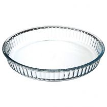 Plat en Verre Rond 32cmTransparent