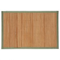 "Set de Table 30x45cm ""Bambou Naturel"" Vert"