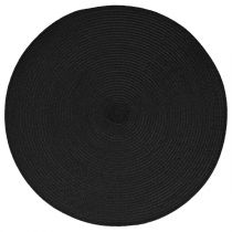Set de Table Rond 38cm Noir
