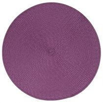 Set de Table Rond 38cm Violet