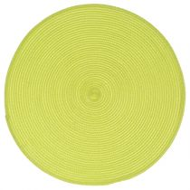 Set de Table Rond 38cm Vert