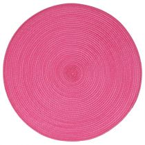 Set de Table Rond 38cm Fuchsia