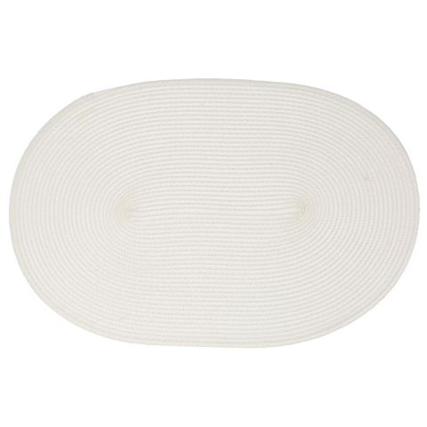 Set de table Ovale Blanc