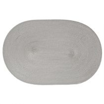 Set de table Ovale Gris Clair