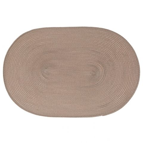Set de table Ovale Taupe