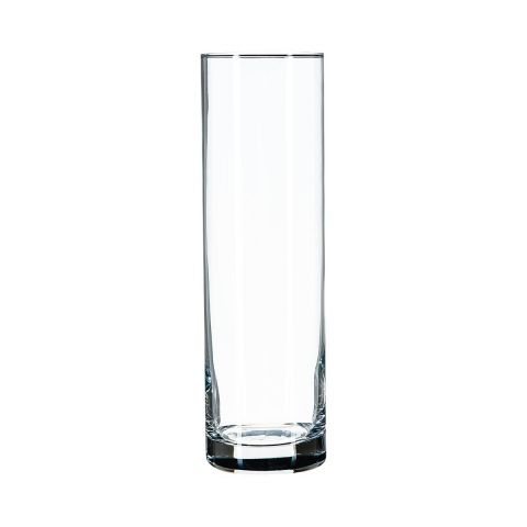 vase cylindrique flora 26cm transparent. Black Bedroom Furniture Sets. Home Design Ideas
