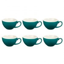 "Lot de 6 Tasses ""Colors"" 40cl Bleu"