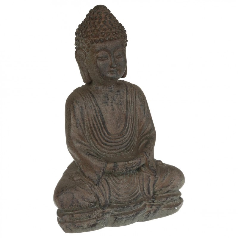 statue bouddha pierre. Black Bedroom Furniture Sets. Home Design Ideas