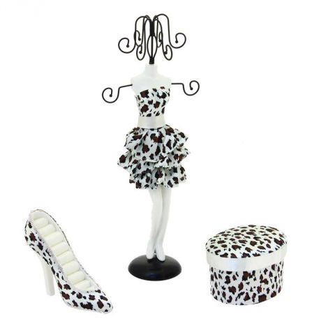 coffret mannequin porte bijoux vachette. Black Bedroom Furniture Sets. Home Design Ideas