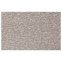 "Set de Table Rectangulaire ""Spaghetti"" 30x45cm Taupe"