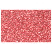 "Set de Table Rectangulaire ""Spaghetti"" 30x45cm Rouge"