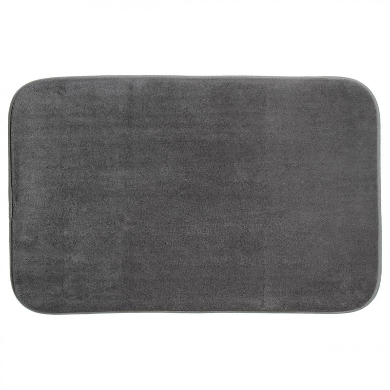 tapis m moire de forme 50x80cm gris. Black Bedroom Furniture Sets. Home Design Ideas