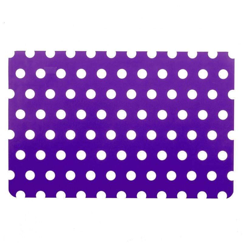 Set de table pois eva 43x28cm violet for Set de table violet