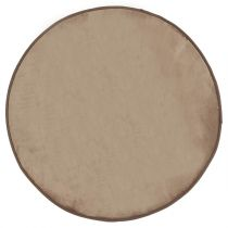 Tapis Velours 90cm Taupe