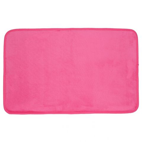 Tapis Rectangulaire Velours 50x80cm Rose
