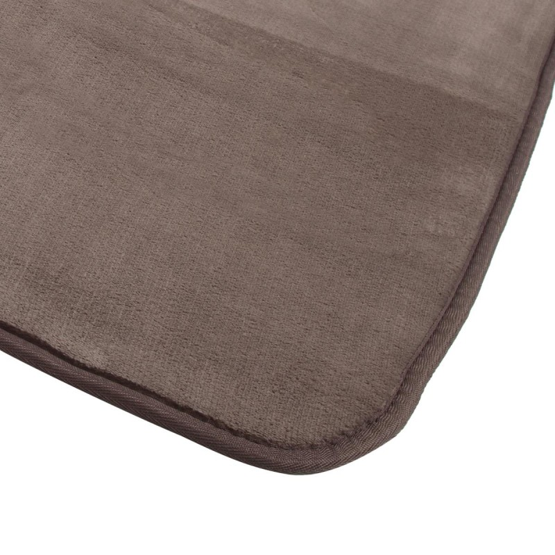 tapis velours 120x170cm taupe. Black Bedroom Furniture Sets. Home Design Ideas