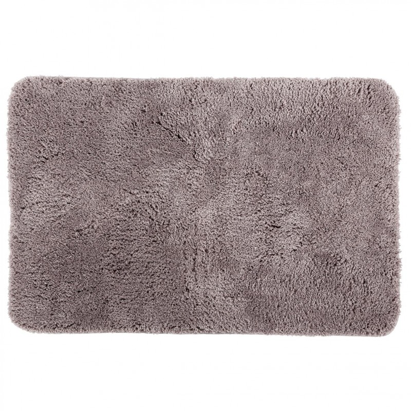 tapis microfibre salle de bain 60x90cm taupe. Black Bedroom Furniture Sets. Home Design Ideas