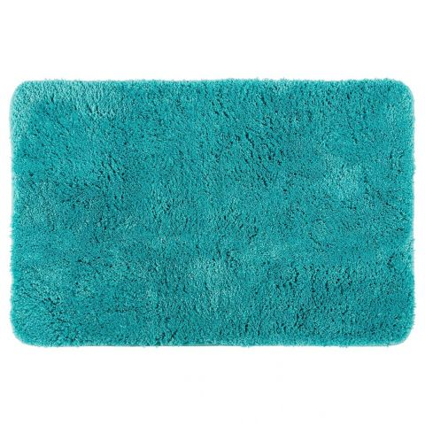tapis microfibre salle de bain 60x90cm turquoise. Black Bedroom Furniture Sets. Home Design Ideas