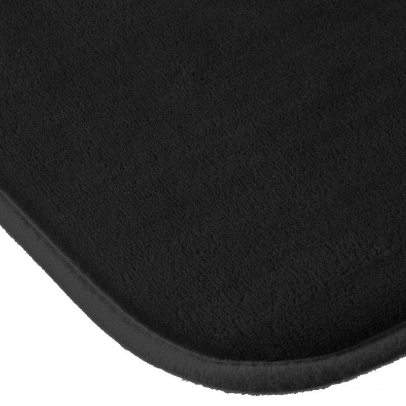 tapis salle de bain m moire de forme 80x50cm noir. Black Bedroom Furniture Sets. Home Design Ideas
