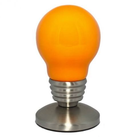 "Lampe Ampoule ""So city"" Orange"