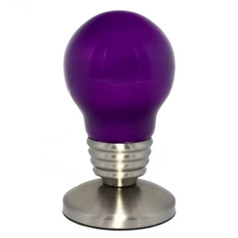 "Lampe Ampoule ""So city"" Violet"