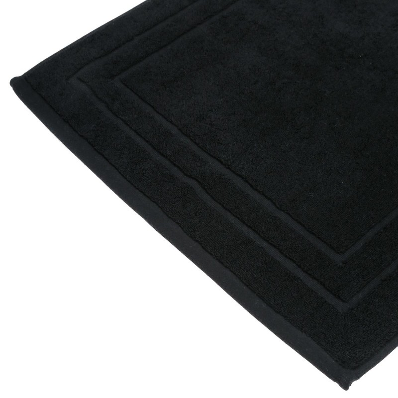 tapis de bain 700g m 70x50cm noir. Black Bedroom Furniture Sets. Home Design Ideas