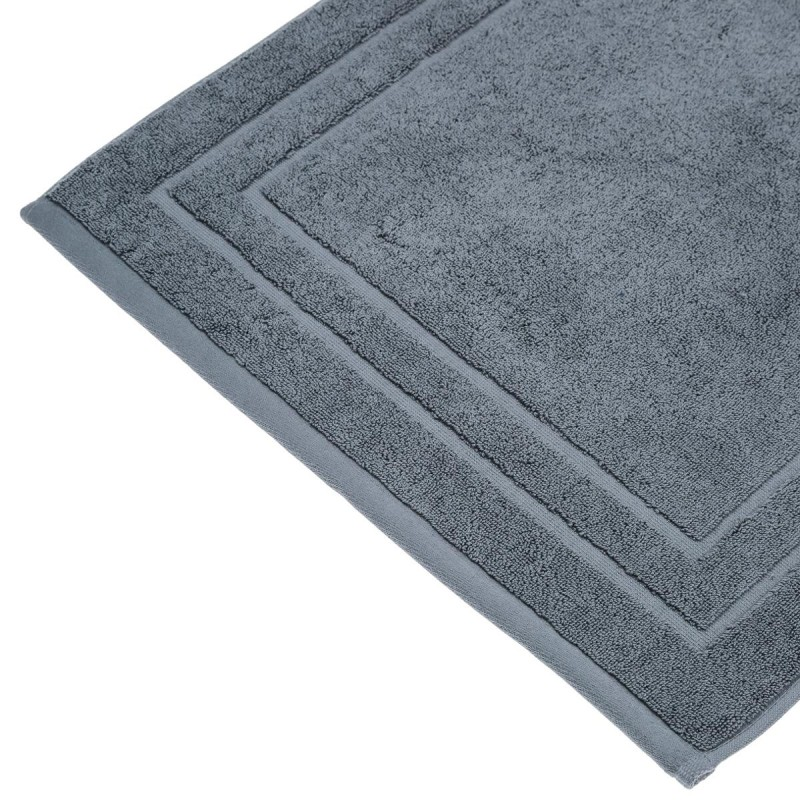 tapis de bain confort 70x50cm gris anthracite. Black Bedroom Furniture Sets. Home Design Ideas