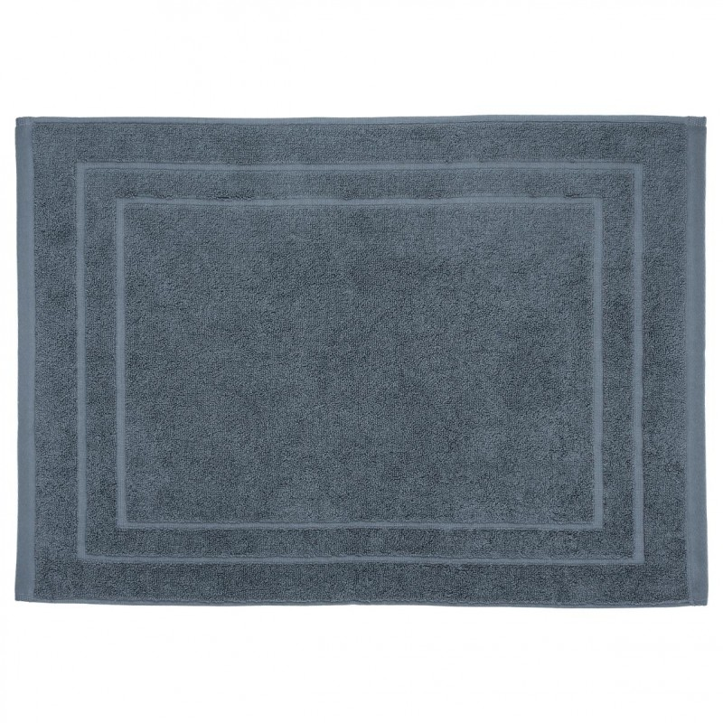 tapis de bain 700g m 70x50cm gris fonc. Black Bedroom Furniture Sets. Home Design Ideas