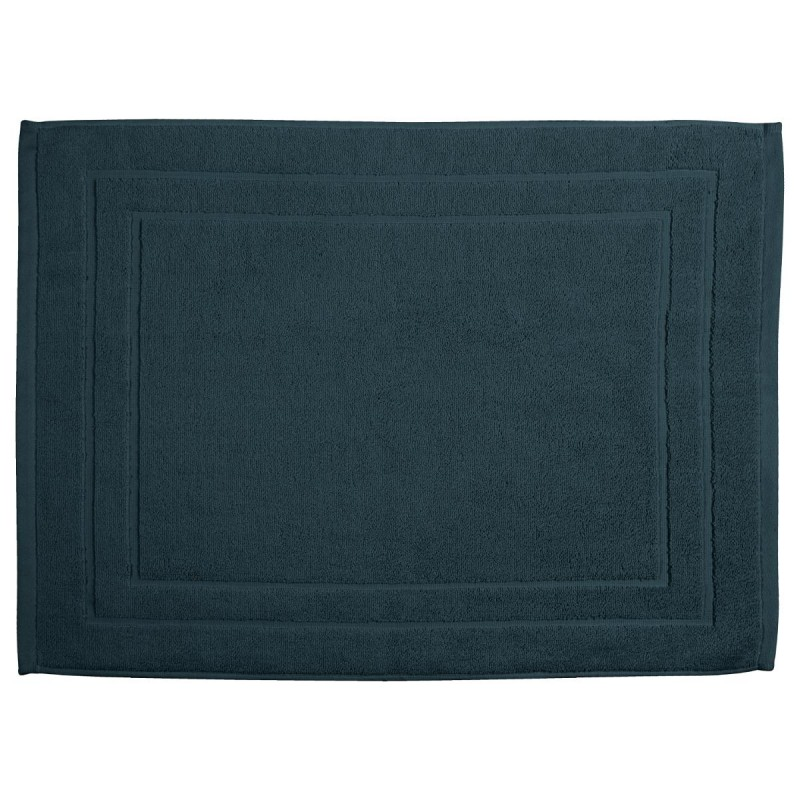 tapis de bain 700g m 70x50cm bleu canard. Black Bedroom Furniture Sets. Home Design Ideas