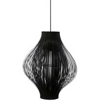 "Lampe Suspension Pliante ""Yisa"" 44cm Noir"