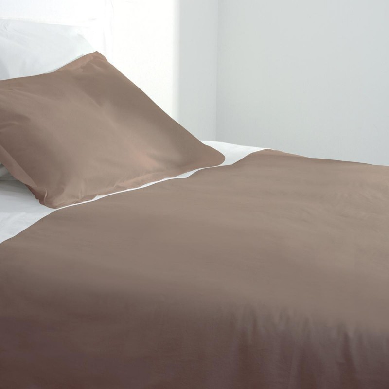 Housse de couette 240x260cm taupe for Housse up and down