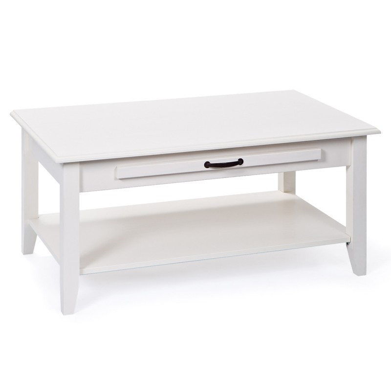 Table basse chlo blanc - Table basse blanc ...