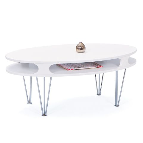 "Table basse ""Adelie"" Blanc"