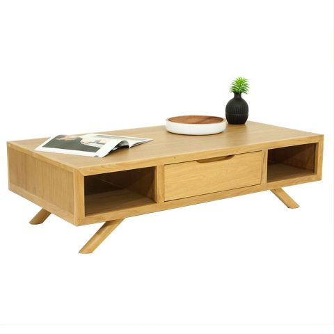 "Table Basse ""Fiftees"" Naturel"