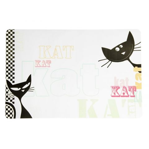 "Set de Table Plastique ""Kat"""