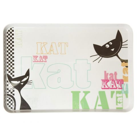 "Plateau Rectangle ""Kat"" Melamine GM"