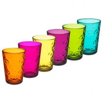 "Set de 6 Gobelets ""Ring"" 21cl Multicolore"