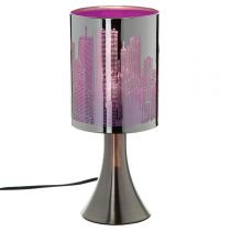 "Lampe Touch ""City"" Violet"