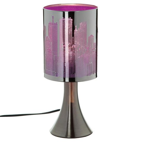 """Lampe Touch """"City"""" Violet"""