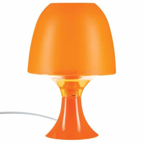 Lampe Deco Champignon Orange