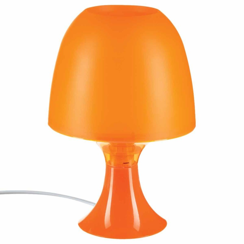 lampe deco champignon orange. Black Bedroom Furniture Sets. Home Design Ideas