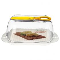 Beurrier & Couteau 18cm Transparent