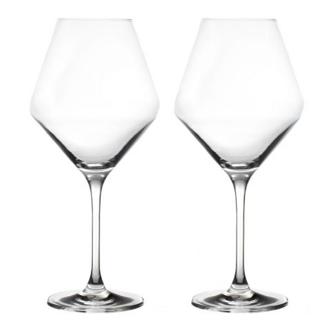 "Lot de 2 Verres à Vin Dégustation 'Grand Cru"" 740ml Transparent"