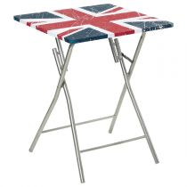 "Table Pliante ""London"" Bleu"