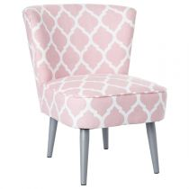 """Fauteuil """"Lapony"""" Rose"""
