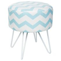 "Tabouret ""Sweet Pop"" Bleu"