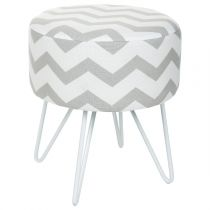 "Tabouret ""Sweet Pop"" Gris"