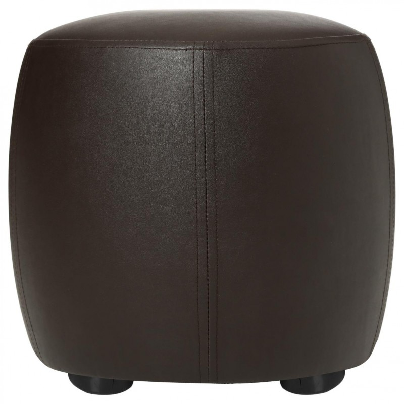pouf simili cuir marron maison design. Black Bedroom Furniture Sets. Home Design Ideas