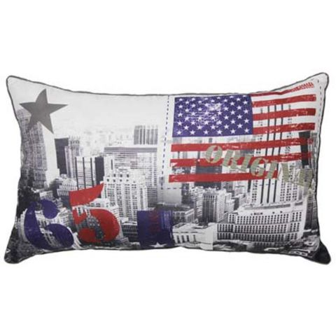 Coussin Vintage New York  30x50cm