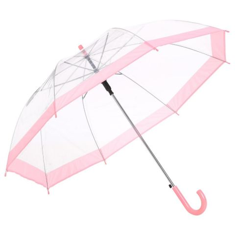 Parapluie Transparent Rose